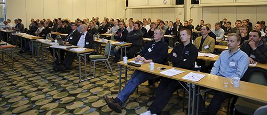 Marraskuussa Tampereella pidettyyn KNX Partner -päivään osallistui noin 120 alan henkilöä.
